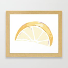 Citrus Framed Art Print