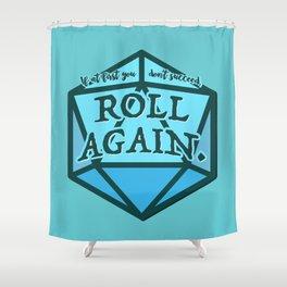 Roll Again Shower Curtain