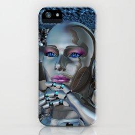 Robotic Chaos iPhone Case