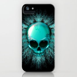 Ghost Skull iPhone Case