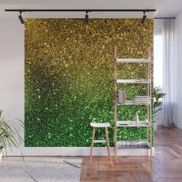 Ombre glitter #2 Wall Mural