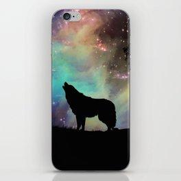 Galaxy wolf | Wolf | Powerful wolf | Wolf love | Wolfsbane | Lycan iPhone Skin