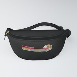 Plainfield New Jersey City State Fanny Pack