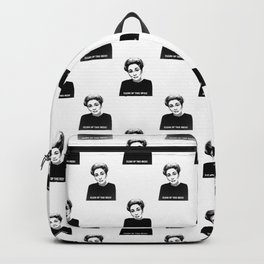Mommie Dearest - Clean up this Mess! - Pop Art Backpack