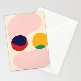 happy shapes Stationery Cards