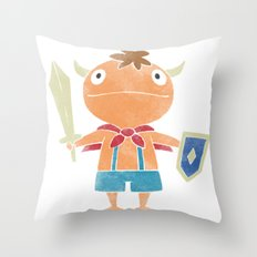 NI NO KUNI : THE FIRST FAMILIAR Throw Pillow