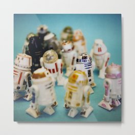 These Aren't the Droids You're Looking For Metal Print