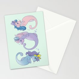 G1 Sea Ponies S.O.S Stationery Cards