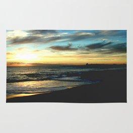 Sunrise on the South Coast of Australia Rug