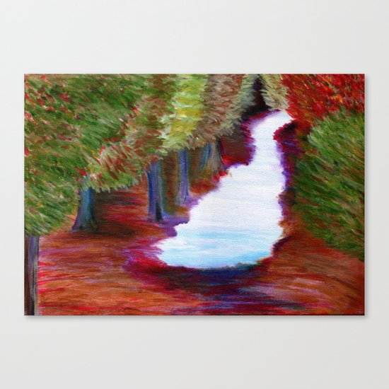 Captivated Forest Canvas Print