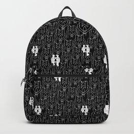 Give me a hug (black pattern) Backpack
