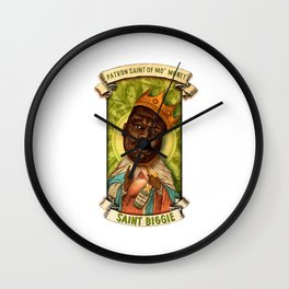 Saint Biggie! Wall Clock