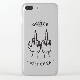 United Witches Clear iPhone Case