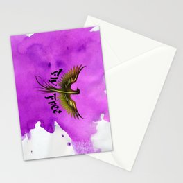 Fly Free Stationery Cards