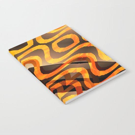 Shimmering Heat Notebook