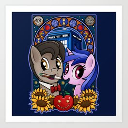 Ponies are Cool Art Print