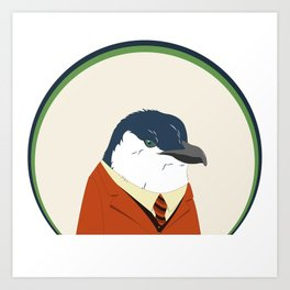 Little Blue Penguin Art Print