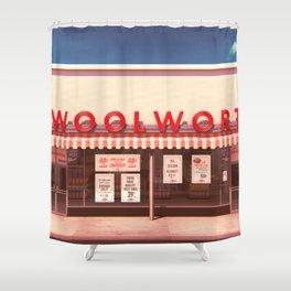 F.W. Woolworth Shower Curtain