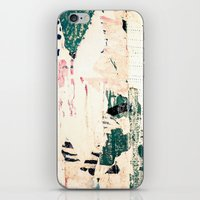 posters iPhone & iPod Skins featuring Posters by Patterns and Textures