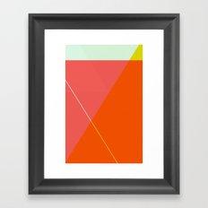 ‡ T x T ‡ Framed Art Print