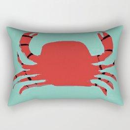 The Faceless Crab Rectangular Pillow