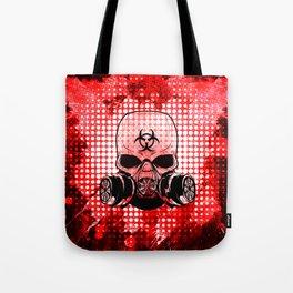 Guerrilla Bio-Hazard Warrior Tote Bag