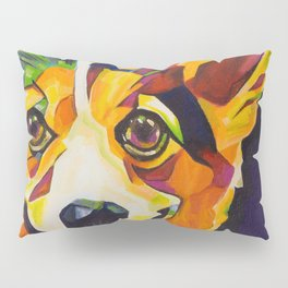 Pop Art Corgi Pillow Sham