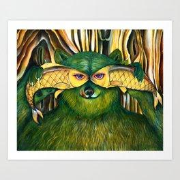 Bear | Disguise  Art Print