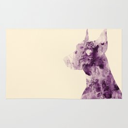 Doberman Sightings Rug