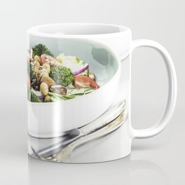 Healthy vegan energy boosting salad Coffee Mug