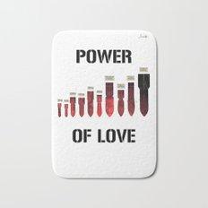 Bombes power of love colors rose noir urban fashion culture Jacob's 1968 Paris Agency Bath Mat