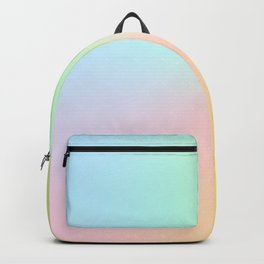 Candy Pastel Rainbow Gradient #abstract  Backpack