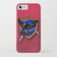 ravenclaw iPhone & iPod Cases featuring Ravenclaw by JanaProject