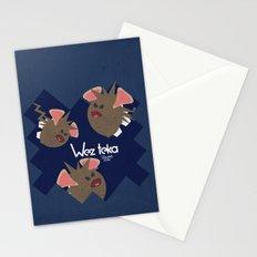 Midnight Attack! - Wezteka Union Stationery Cards