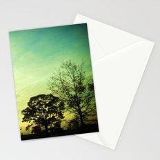 Orange Green Blue Sky Stationery Cards