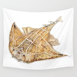 Angel shark Wall Tapestry