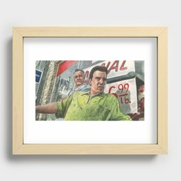Paulie and Silvio Recessed Framed Print