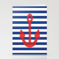 sailor Stationery Cards featuring Sailor.. by PearGraphics