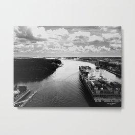 Savannah River Cargo Metal Print