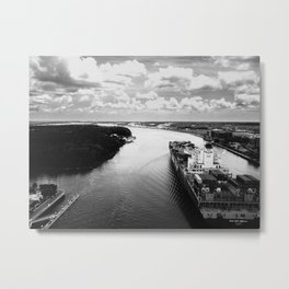 Savannah River Cargo Metal Print