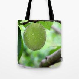 Chinese Green Fruit Tote Bag