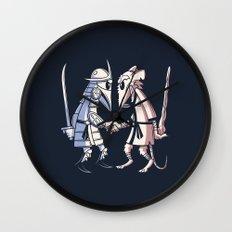 Sensei vs Sensei Wall Clock