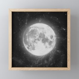 The Moon 2 Framed Mini Art Print