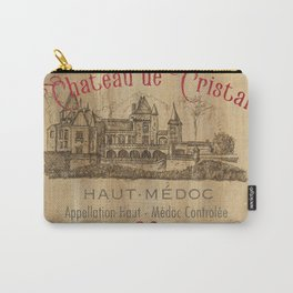 Barrel Wine Label 1 Carry-All Pouch