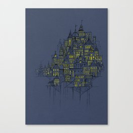 High City Lights Canvas Print