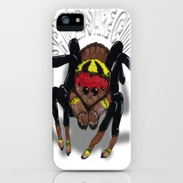 Darrell Merrill Nerd Artist Jumping Spider iPhone Case