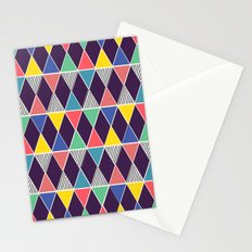 Triangles & Lines Stationery Cards
