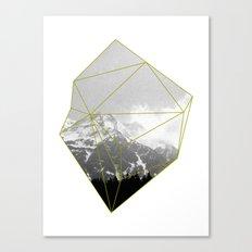 Alps Chunk Canvas Print