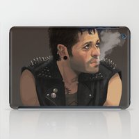 punk iPad Cases featuring Punk by Pat-a-tat