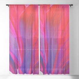 Ti Leaf Series #2 Sheer Curtain